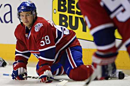 Canadiens recall David Desharnais from Hamilton