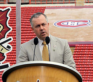 Molson Announces Canadiens Management Restructuring