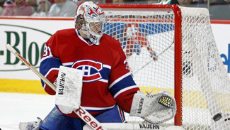 Official Release: Carey Price earns Molson Cup honour for February