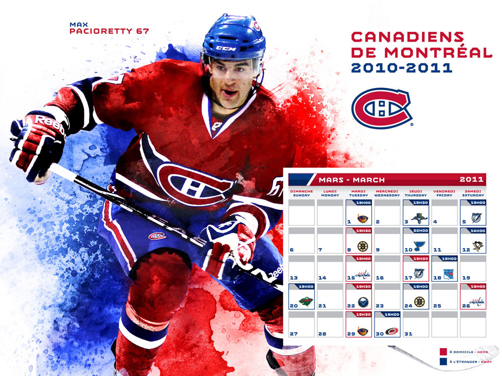Is The Canadiens Monthly Wallpaper Cursed All Habs Hockey Magazine