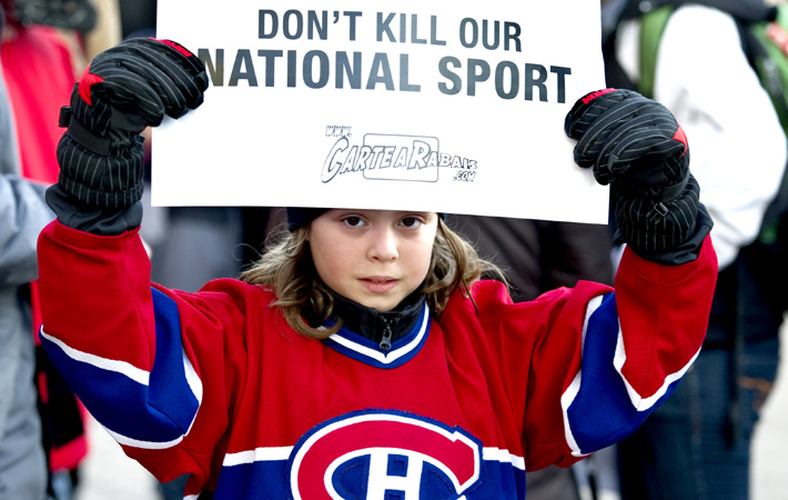 "an analysis of the violence in the game ice hockey Hockey and canadian culture its violence gives us a view the increasingly aggressive assertions that hockey is ""canada's game"" and no one else's."