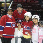 Skate Beside Heroes, Lady E's Date with Habs