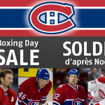 Montreal Canadiens' Boxing Day Sale