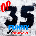 Top 35 Funny NHL Player Names