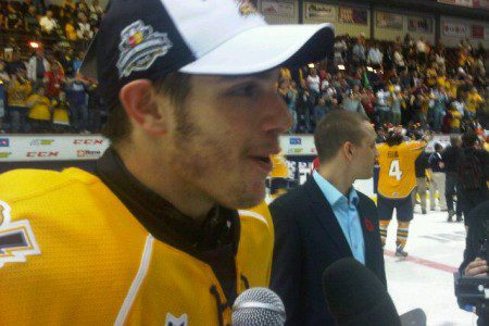 Cataractes win their first-ever MasterCard Memorial Cup