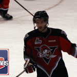 Nikolas Brouillard of the Drummondville Voltigeurs.