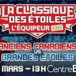 Canadiens Alumni vs Greatest NHL Stars to Benefit Charities