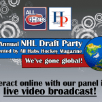 Watch All Habs Draft Coverage With Your Comments, Chat