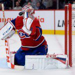 Habs Carey Price Earns Molson Cup for October