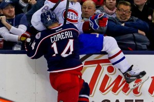 This Picture of Lars Eller Getting Hit is Awesome