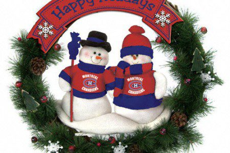 Christmas Gifts for the Canadiens