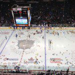 Bulldogs' Toy Toss Night a Success, but Marlies Prevail