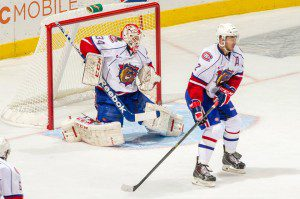 The two men most responsible for Hamilton's success this season are goaltender Dustin Tokarski and defenseman Greg Pateryn (PHOTO: HAMILTON BULLDOGS)