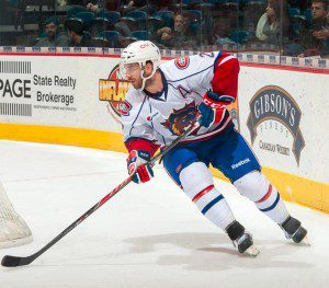 Pateryn's two assists and strong defensive play earned him the game's second star. (PHOTO: BRANDON TAYLOR via HAMILTON BULLDOGS)