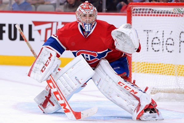 CareyPrice A Huge Price to Pay: Canadiens' Goalie Focused for 2014/15 Season