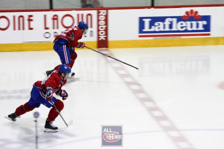 Prospect Report: Habs Development Camp Testing [GALLERY]