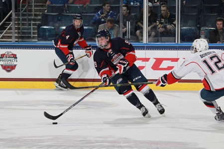 Eichel, Bracco Stand Out at Prospect Game