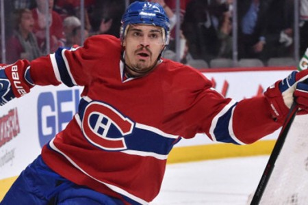Canadiens' Rene Bourque Clears Waivers, Assigned to Bulldogs