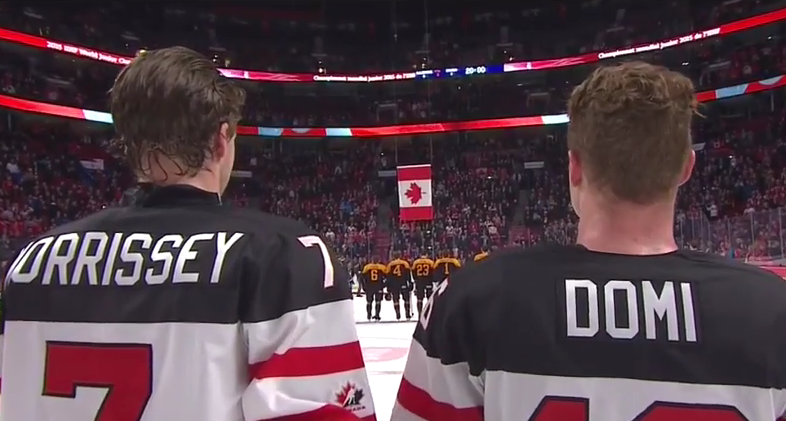 Canada Vs Germany December 27th 2014 2015 Iihf World Juniors Day 2 Hd Youtubeanthem3 All Habs Hockey Magazine