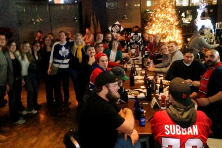All Habs Hockey Party in Sarnia Unites Fans
