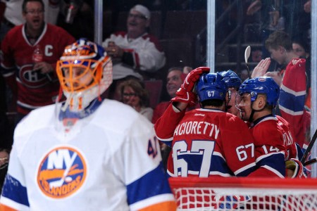 Recap – Islanders vs Canadiens: Plekanec Leads Habs With Four Point Night