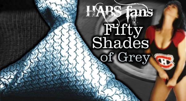 Habs' Fans in 50 Shades of Grey