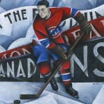 Special Feature: Honoring the Habs, Sport through Art