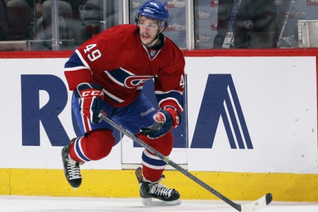 Canadiens Assign Forward Michael Bournival to Bulldogs