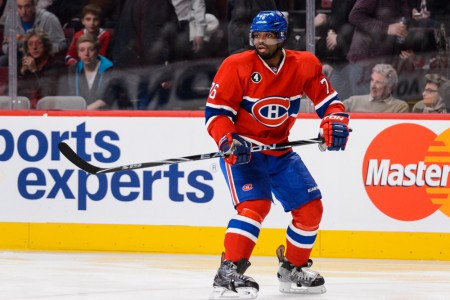 P.K. Subban Named as Finalist for Norris Trophy