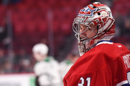 Canadiens Carey Price Named as Finalist For Hart Trophy