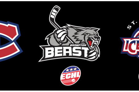 ECHL's Brampton Beast Announce Affiliation with Canadiens