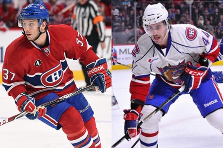 Canadiens Sign Gabriel Dumont, Morgan Ellis to One-Year Contracts