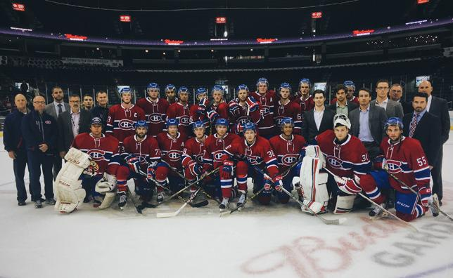 Habs rookies (Photo by Canadiens.com)
