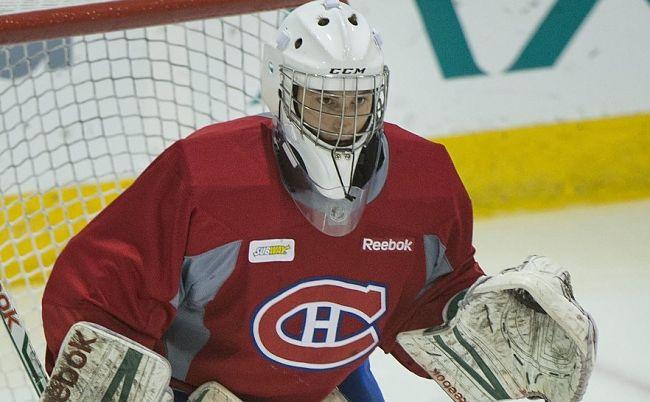 Zachary Fucale (Photo by THE CANADIAN PRESS IMAGES/Graham Hughes)