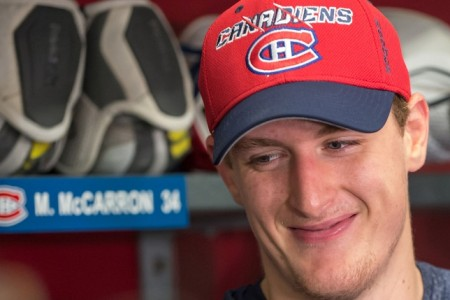 Canadiens Assign Nine Players to IceCaps Including Carr, McCarron