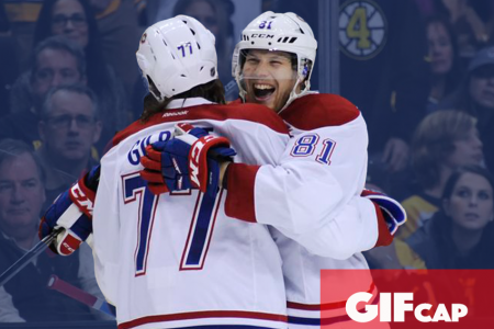 Game GIFcap: Montreal Canadiens Defeat Division Rivals Boston Bruins