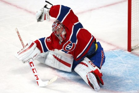 Canadiens Carey Price Named NHL`s Second Star for October