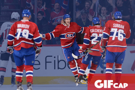 Game GIFcap: Habs Fall to Sens in First 3-on-3 Overtime of the Season