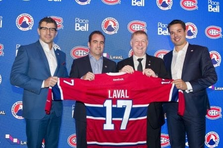 Canadiens AHL Affiliate in Laval for 2017-18 Nicknamed Rocket