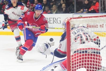 ROSTER UPDATE | Canadiens Recall Charles Hudon From IceCaps