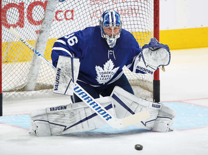Jack Campbell Leafs